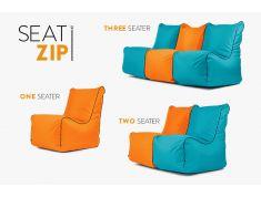 Neu bei uns! ZIP edition – Sitzsack mit Zippern.