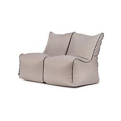 Sitzack Set Seat Zip 2 Seater Nordic