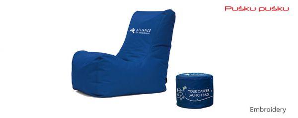 Bestickte Sitzsäcke ALLIANCE FOR RECRUITMENT