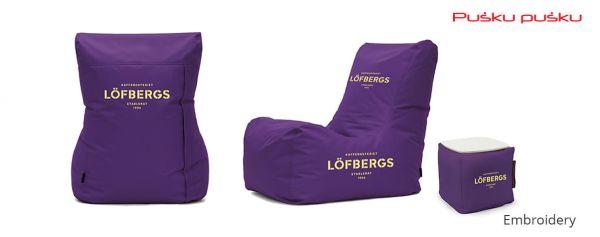 Bestickte Sitzsäcke LOFBERGS