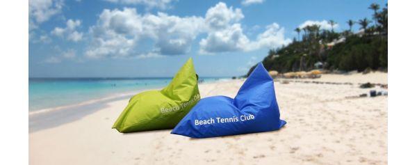 Bestickte Sitzsäcke BEACH TENNIS CLUB